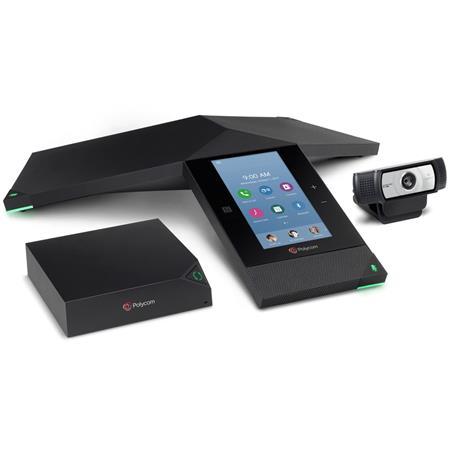 Polycom RealPresence Trio 8800 IP Conference Phone Collaboration Kit,  Includes Trio Visual+ Video Conferencing Accessory and Logitech C930e Webcam