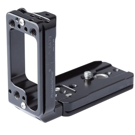 Universal Cameras L Bracket L Plate with 1//4-20 Tripod Threads and Arca Swiss Compatible