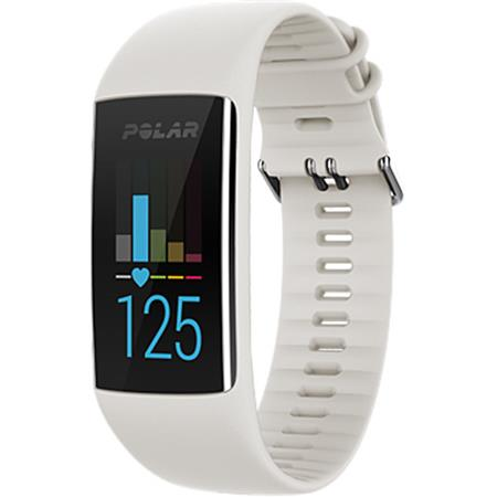 Polar A370 Waterproof GPS Fitness Tracker with Wrist Based Heart Rate  Monitor, Medium/Large, White