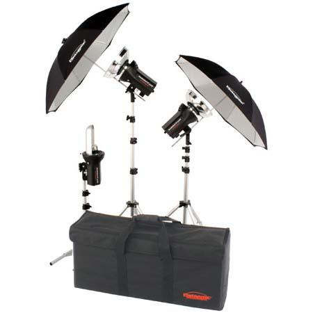 Photogenic 907403 Studiomax Iii Ac Dc Executive Kit 907403