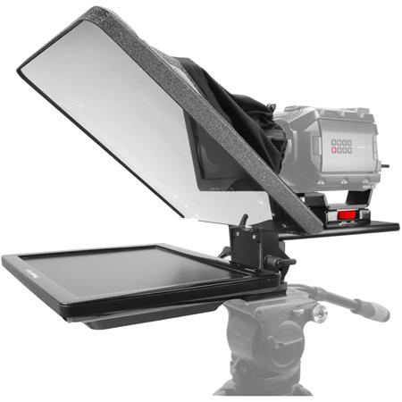 Prompter People Flex 15 TelePrompter with Reversing Monitor, 15