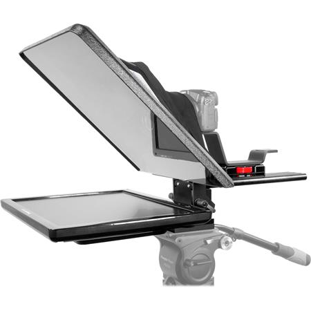 prompter people flex 17 teleprompter with reversing monitor flex 17