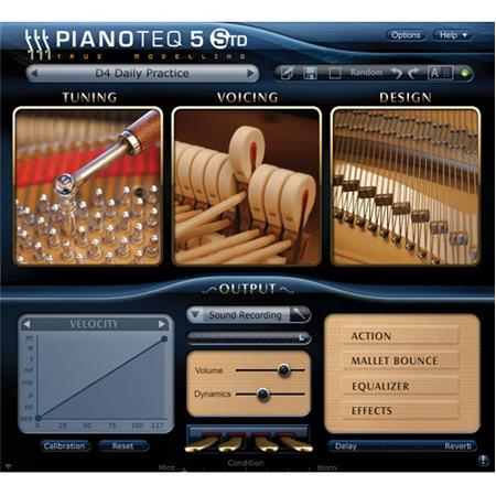 Pianoteq 5 Standard Virtual Piano Software, Electronic Download