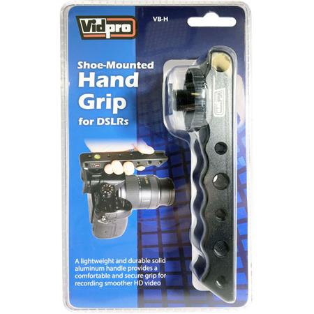 Nikon D500 Digital Camera Vidpro VB-H Top Hand Grip for DSLRs Cameras and Camcorders
