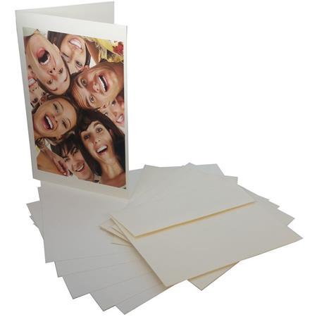 Premier imaging inkjet greeting card with a7 envelope 19 mil 20 premier imaging premierart archival inkjet greeting card with a7 envelope 10x7 folds to 5x7 19 mil 325gsm 20 cards smooth matte natural white m4hsunfo