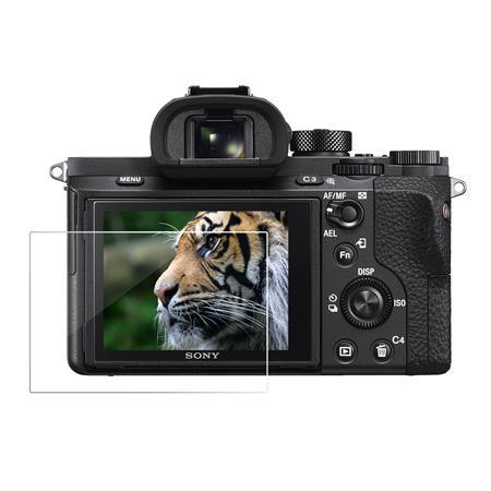 2x protector de pantalla de vidrio templado para A7II A7III A7SII A7RII Sony Alpha A99 A9