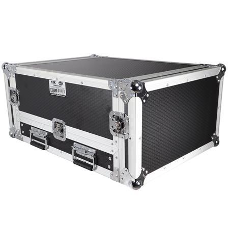 ProX T-2MRSS13ULT Flight Case with Laptop Shelf for 2U Rack x 13U Top Mixer  DJ Combo