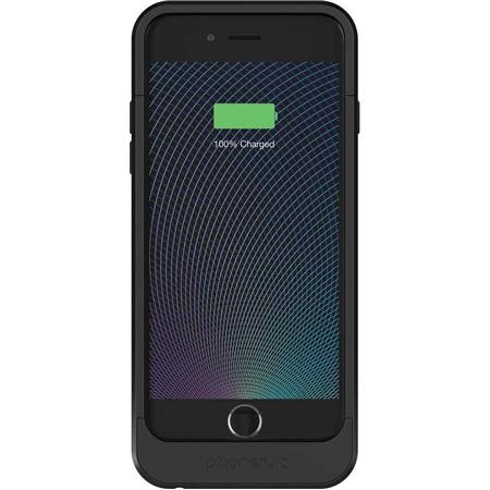 detailed look b749d 9b717 PhoneSuit Elite 6 Pro Battery Case for iPhone 6, Metallic Black