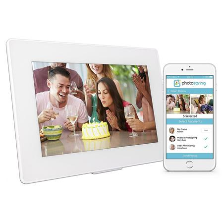 Photospring 10 32gb Wi Fi Digital Photo Frame With Touchscreen And