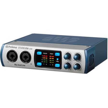 Presonus Studio 26 2x4 USB 2.0 Audio Recording Interface w// 2 XMAX Mic Preamps