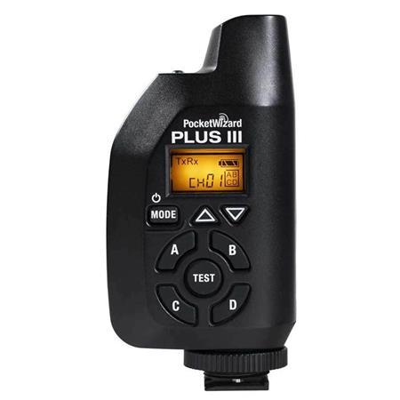 PocketWizard Plus III Wireless flash synchronization transceiver FCC//US:340-354M