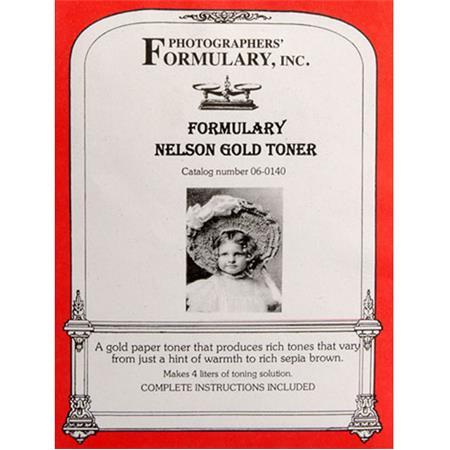 Photographers' Formulary Nelson Gold Toner: Picture 1 regular