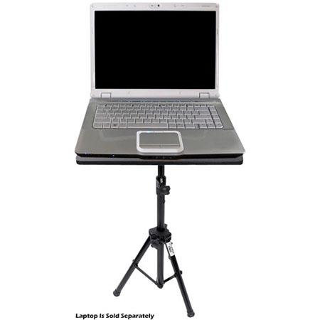 """Pyle PLPTS3 Portable Height Adjustable Laptop DJ Computer Projector Stand 28/"""" to"""