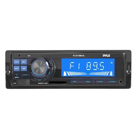 Pyle PLR15MUA In-Dash AM/FM Radio with USB/SD Memo PLR15MUA - Adorama