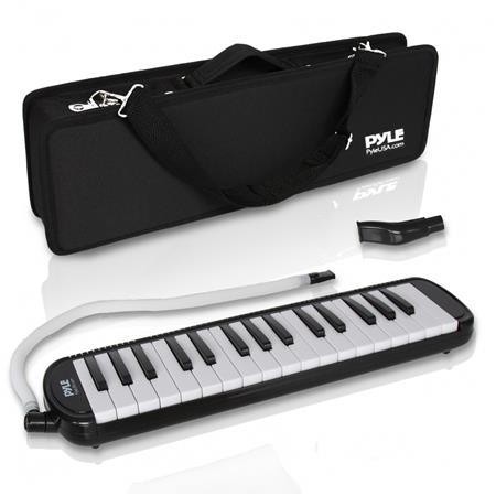 Pyle PMLD12BK 5 Melodica 32 Keys Keyboard Harmonica Instrument