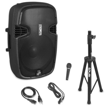 Wired Microphone Pphp155st, Pyle Outdoor Speakers