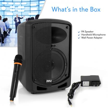 Pyle PSBT65A Compact /& Portable Bluetooth PA Speaker