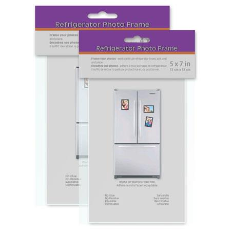 Quadro Designs 5x7 Fridge Frame FA57STNCLG