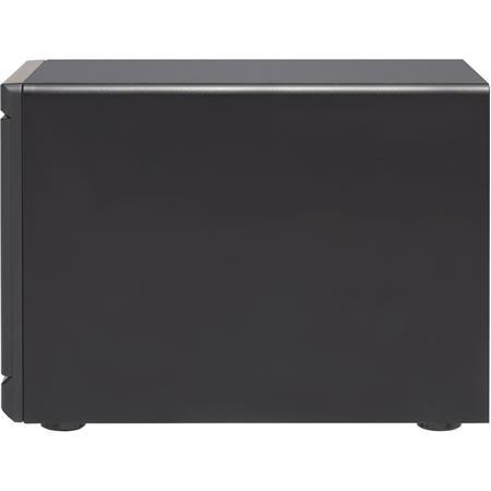 Qnap TVS-1282T3 12-Bay Thunderbolt 3 NAS Enclosure, Intel Core i7-7700  3 6GHz, 64GB (4x 16GB) RAM, No HDD