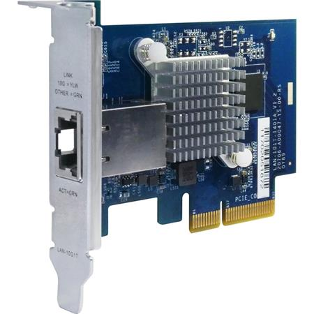 Qnap Single-Port (10Gbase-T) 10GbE Network Expansion Card, PCIe Gen2 x4