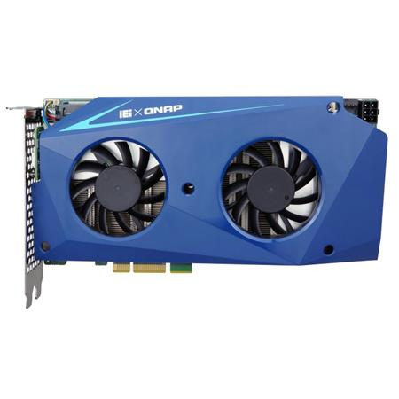 Qnap MUSTANG-200 Computing Accelerator Card Support Two Intel Core i5-7267U  with Intel 600P 1TB (512GB x2) SSD, 32GB (8GB x4) DDR4, PCIe x4 Interface,