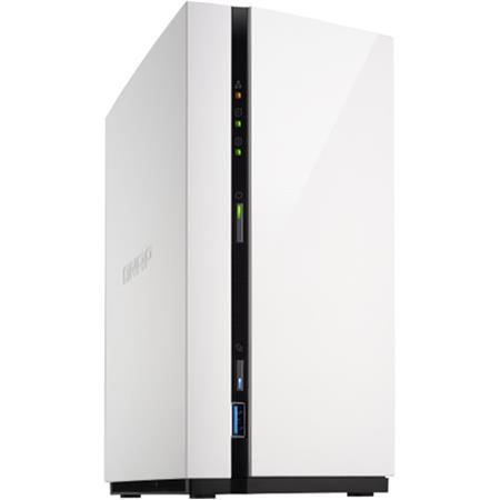 Qnap TS-228A 2-Bay NAS Enclosure, ARM RTD 1295 Quad-Core 1 4GHz, 1GB RAM