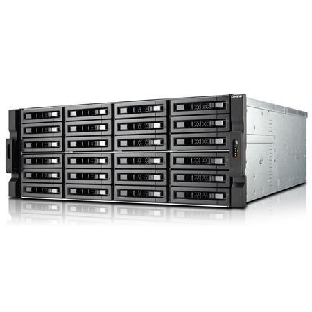 Qnap TS-EC2480U R2 24-Bay 4U Rackmount High Performance Unified Turbo NAS  with Built-in 10GbE, Intel Xeon E3-1246 V3, 4GB RAM, 3 5