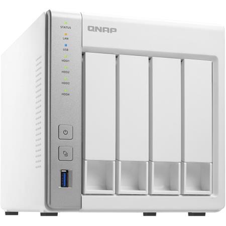 Qnap TS-431P2 4-Bay Personal Cloud NAS Enclosure, ARM Cortex A15 Quad-Core  1 7GHz, 1GB RAM