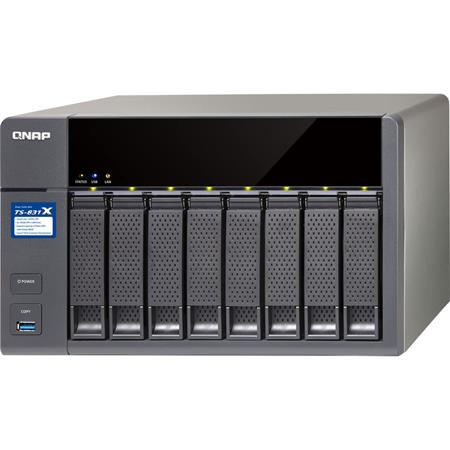 Qnap TS-831X Cost-Effective Business NAS with Integrated Dual 10GbE SFP+  Port, Annapurna Labs Alpine AL-314 1 4 GHz Cortex-A15, 16GB RAM, 3 5