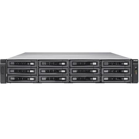 Qnap Ts Ec1280u Rp 12 Bay 2u Rackmount Turbo Nas Storage