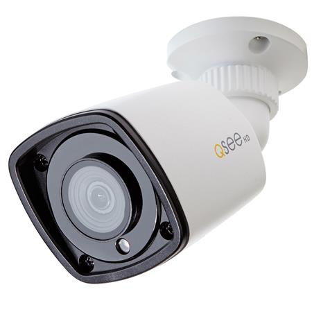 Q-See 1080P Starlight Indoor/Outdoor Day & Night IP Bullet Camera for QT IP  NVRS, 3 6mm Lens, H 264 / MJPEG, White
