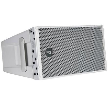 RCF HDL10-A Active Line Array Module, 65Hz- 20KHz Frequency Response, 133dB  SPL, White