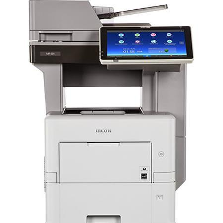 Ricoh MP 501SPF B&W Multifunction Laser Printer, Up to 52ppm, 1200x1200dpi,  500 Sheet Input Tray - Print, Copy, Scan, Fax