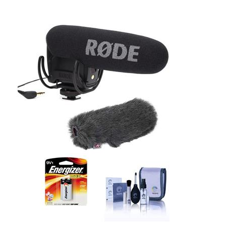 Rode Videomic Pro On Camera Microphone With Suspension Mount Mini Windjammer