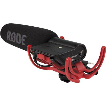 VideoMic with Rycote Lyre Suspension System
