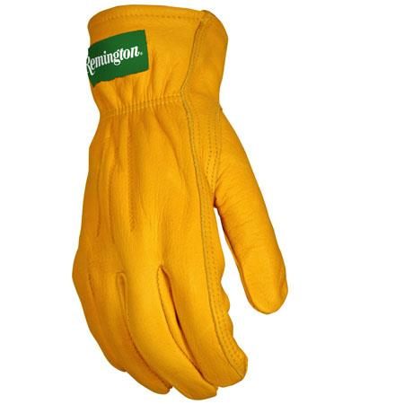 Remington Premium Grain Leather Driver Gloves Lar Rg19l