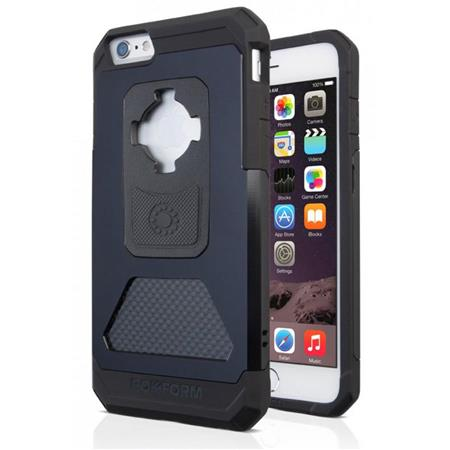 big sale a21a2 e5870 Rokform Fuzion + RMS Aluminum iPhone 6/6s Plus Case - Mountable, Black