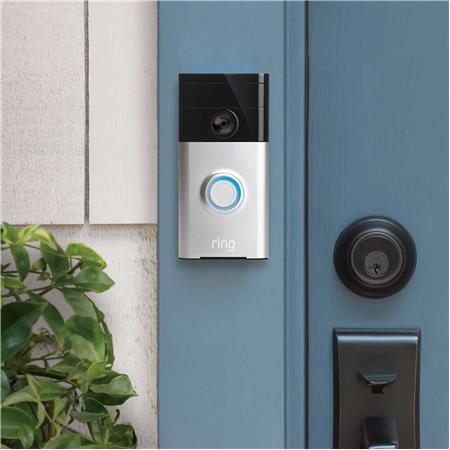 Satin Nickel Certified Refurbished #R8VRS5-SEN0 Ring Video Doorbell
