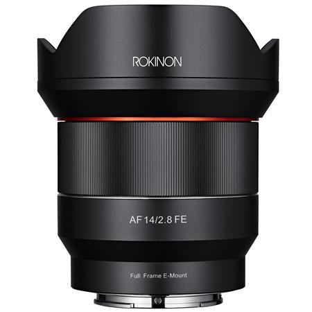 Sony E Mount Full Frame Lenses >> Rokinon 14mm F2 8 Af Wide Angle Full Frame Auto Focus Lens For Sony