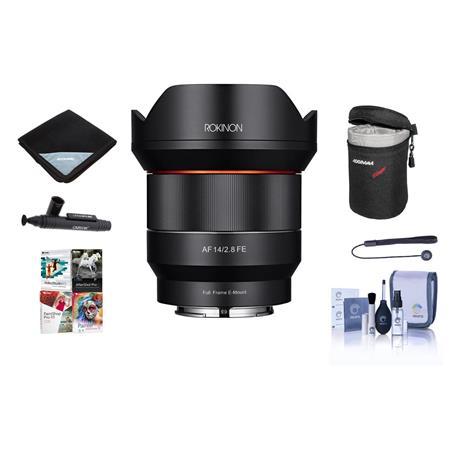 Rokinon 14mm F2.8 AF WA Full Frame AF Lens for Sony E Mount W/Free ...