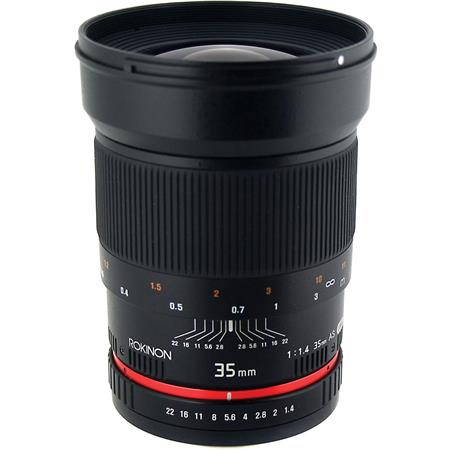 rokinon 35mm f 1 4 manual focus lens for canon dslr cameras rk35m c rh adorama com canon dslr manual lens Animated Camera