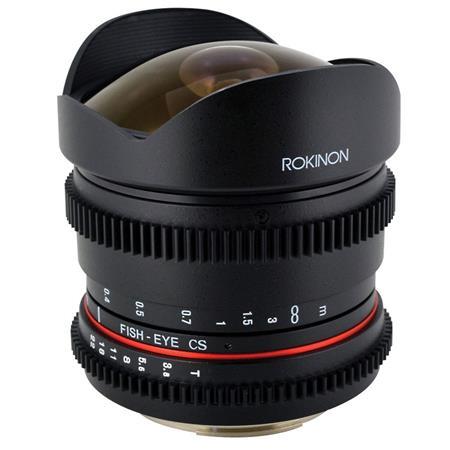 Rokinon RK8MV-C 8mm T3.8 Cine Fisheye Lens