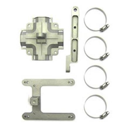 Ruckus Spare Mounting Bracket for T300, T300e, T301n, T301s and P300  Outdoor Access Point, Bare Metal, Any Angle
