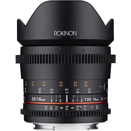 Sony E Mount Full Frame Lenses >> Rokinon 16mm T2 6 Cine Ds Full Frame Lens For Sony E Mount Cameras