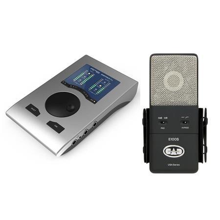 RME Babyface Pro 24 CH 192kHz Bus-Powered USB 2 0 Audio Interface W/CAD  Microphn