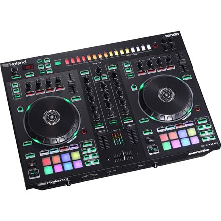 Roland DJ-505 2-Channel 4-Deck Serato DJ Controller