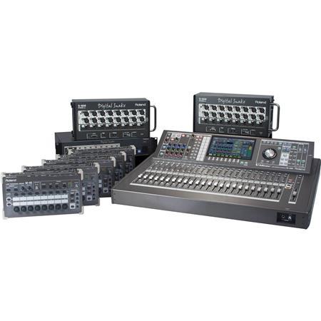 Roland 42x26 Digital Mixing System and Personal Mi M480-STDPM5