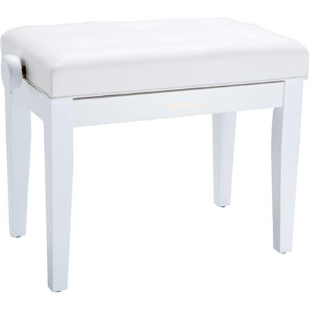Surprising Roland Rpb 300 Piano Bench With Cushioned Seat Satin White Frankydiablos Diy Chair Ideas Frankydiabloscom