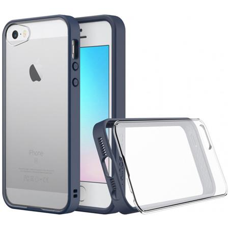 Rhinoshield Mod For Iphone Se5s Wrim Buttonframe Clear Back