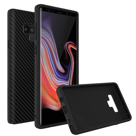 finest selection 772c5 58e87 RhinoShield SolidSuit Protective Case for Samsung Galaxy Note 9,  Black/Carbon Fiber